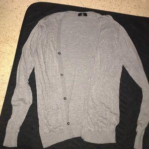 Grey American Apparel cardigan